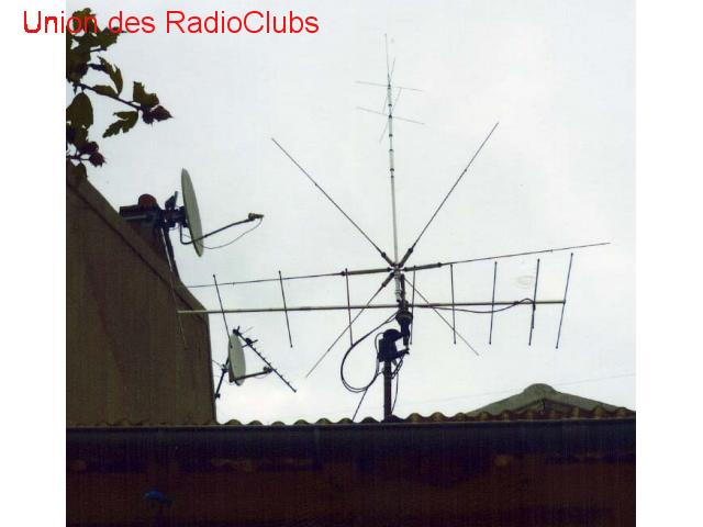 vend antenne multibande diamond CP6R