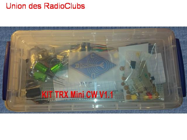 Kits mini CW V1.1
